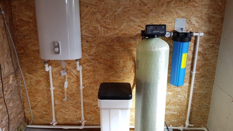 Монтаж системы очистки воды в днп Родные просторы